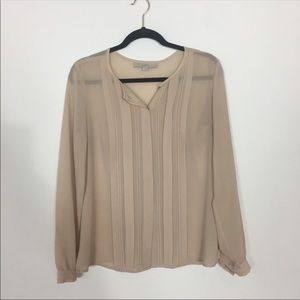 LOFT | Sheer Blouse